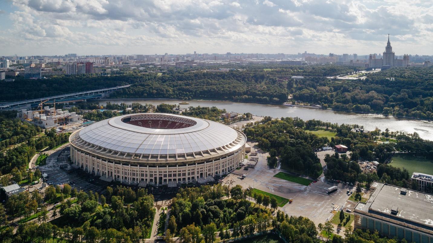 Thiết kế sân vận động hình tròn