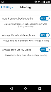 RingCentral Meetings - screenshot thumbnail