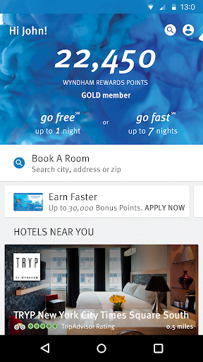 Wyndham Rewards 3.9.0.3865 screenshots 1