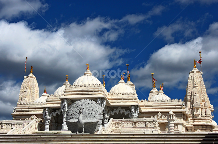 Swami Narayan Temple by Dipali S - Buildings & Architecture Places of Worship ( temple, swami narayan temple, atlanta, baps )