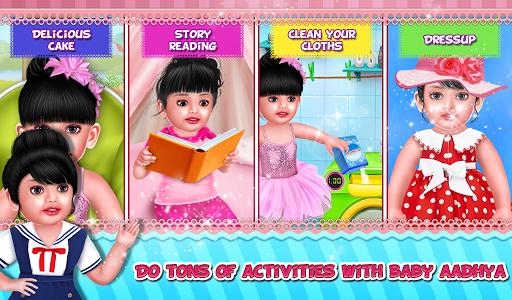 Aadhya's Daily Routine Activities Game apktram screenshots 5