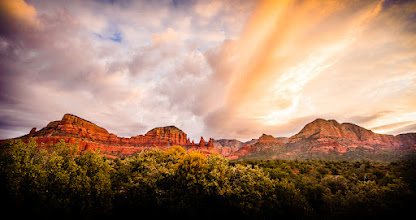 Photo: A Sedona Winter Morning  Waking up early can be worth it.