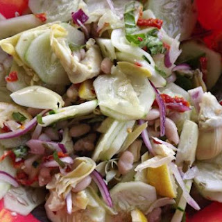 Cucumber and Cannellini Bean Salad