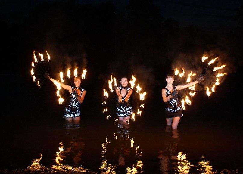 Огненное шоу «Fire Play» в Самаре
