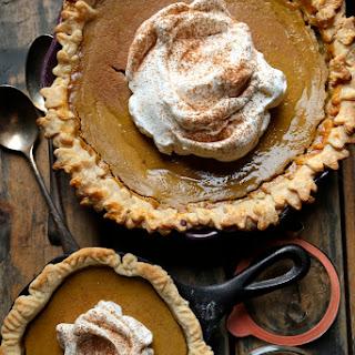 Bourbon Maple Golden Acorn Squash Pie