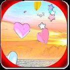 Hearts 3D Live Wallpaper icon