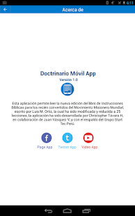 Doctrinario MMM Móvil App- screenshot thumbnail