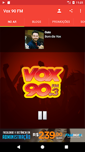 Vox 90 FM - náhled