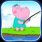 Pesca: captura de peces icon