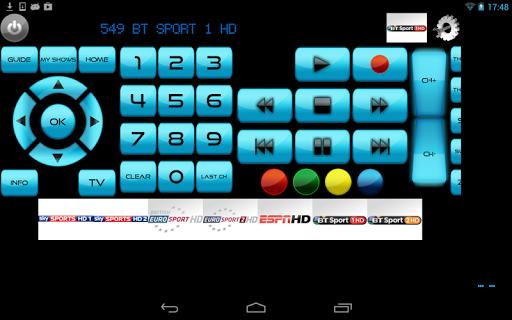 Remote for Panasonic TV+BD+AVR screenshot 9