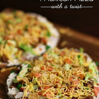 Mexican Pizza with a Twist.