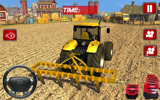 実際の農家のトラクターシム2016