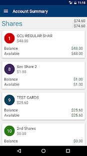 Granite CU Mobile Banking- screenshot thumbnail