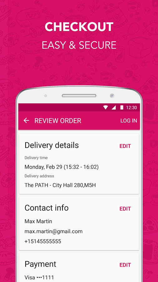 how to cancel a foodora order