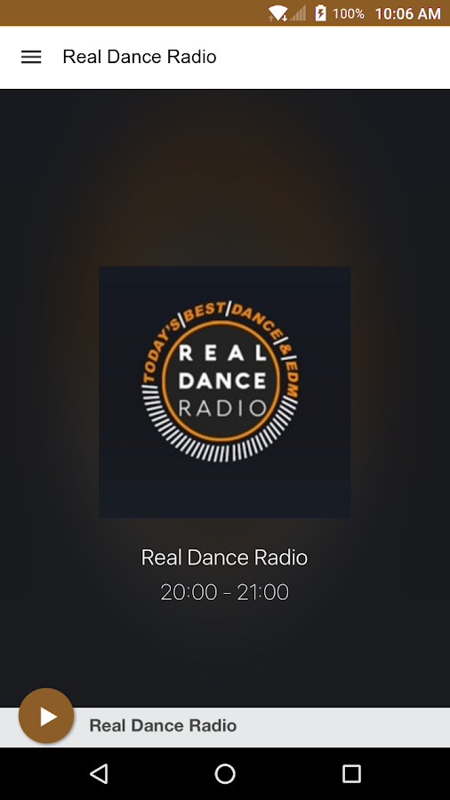 Real Dance Radio- screenshot
