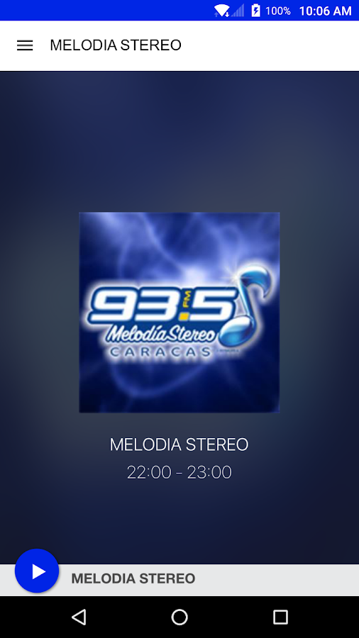 MELODIA STEREO- screenshot