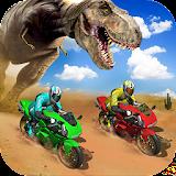 Offroad Dino Escape Heavy Bike Racing file APK Free for PC, smart TV Download