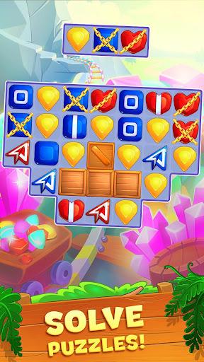 Crystal Crunch: New Match 3 Puzzle | Swap Gems 1.6.1 screenshots 5