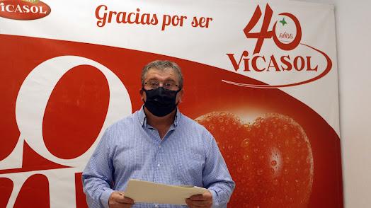 El presidente de Vicasol.
