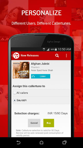 Vodafone Callertunes for PC