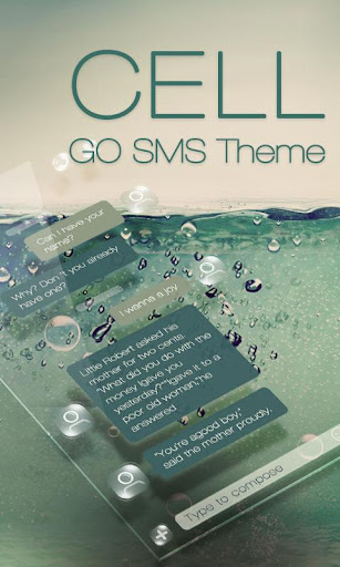 GO SMS PRO CELL THEME