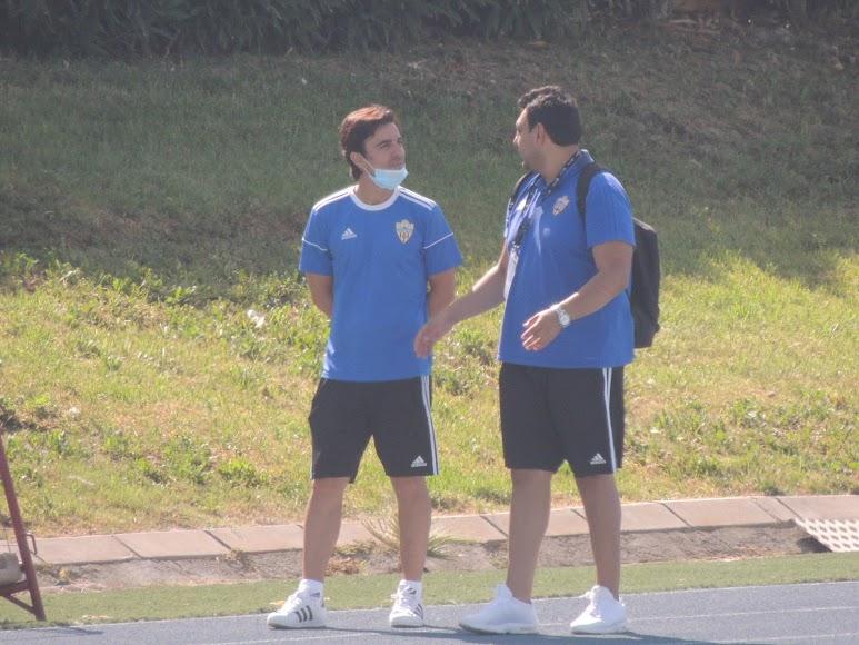 Mario Silva y Mohamed Adel.