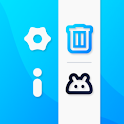 Apps Manager - Multiple uninstall, Developer Info icon
