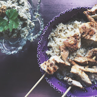 Sesame & Honey Chicken Kebabs