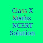 10th Maths NCERT Solution Icon
