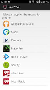 BrainWave Music Control Screenshot 1