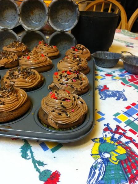 Brown Sugar Chocolate Cake Or Cupcakes Recipe