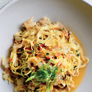 Pasta With Rock Shrimp, Chile, and Lemon