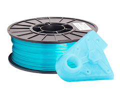 Translucent Aqua PRO Series PLA Filament - 2.85mm (1kg)
