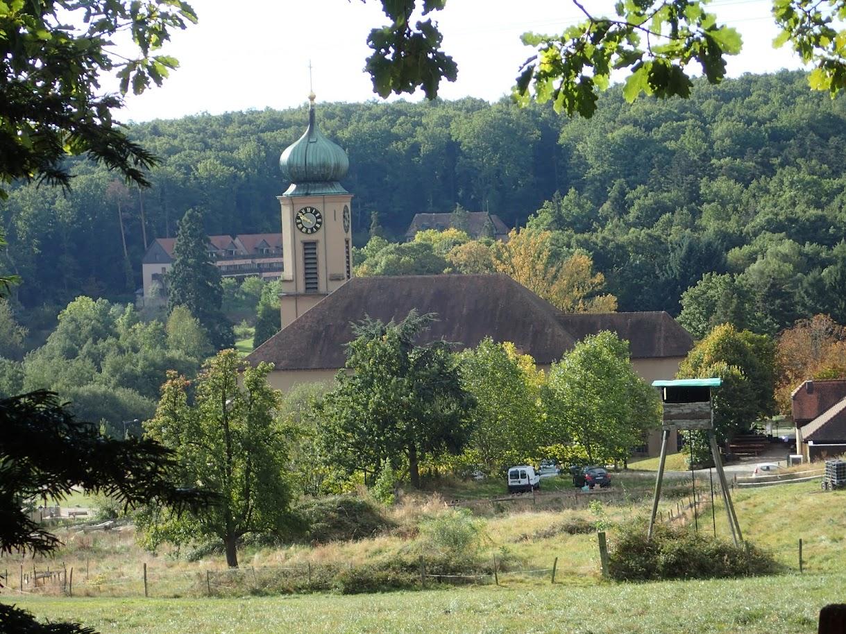 Il est presque 10 heures quand j'arrive à hauteur de Thierenbach