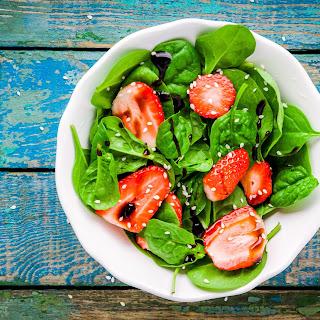 Spinach & Strawberry Salad