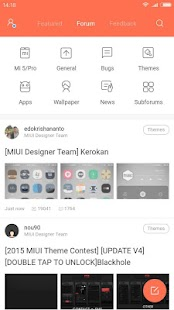 Xiaomi MIUI Forum Screenshot