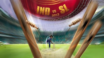 Screenshot of India vs Sri Lanka 2012