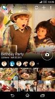 Screenshot of PlayMemories Online