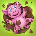 Animal Farm for Kids. Toddler games. icon