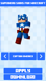 Superhero Skins for Minecraft PE 🎮 15
