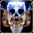 Zipper Skull Lock