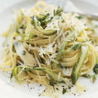 Asparagus Tagliatelle