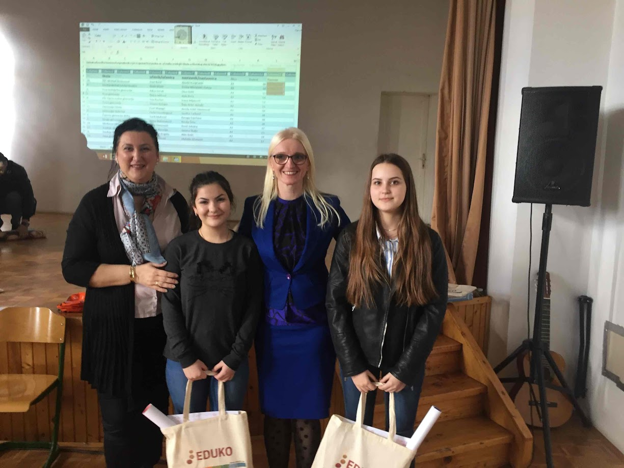Održano Kantonalno takmičenje iz njemačkog jezika