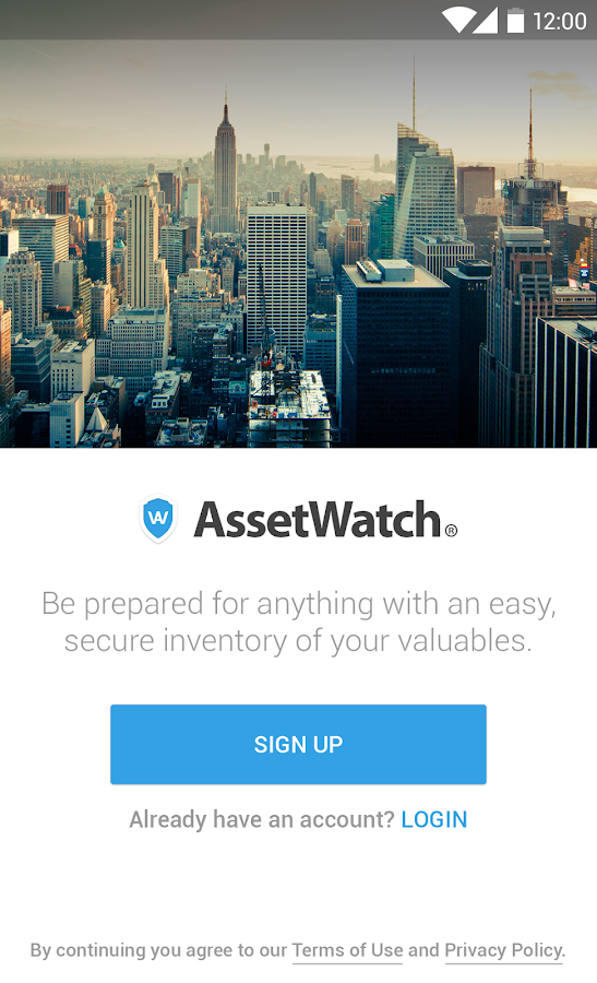 AssetWatch- screenshot