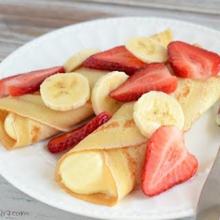 Strawberry Banana Crepe