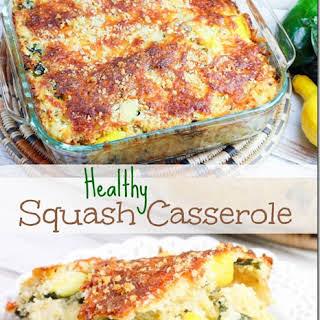 Zucchini Squash Casserole Healthy Recipes.