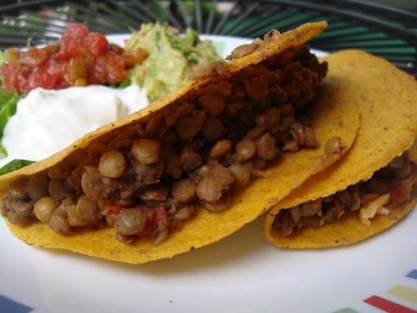 Family Fave Lentil Tacos Recipe