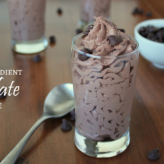 3-Ingredient Chocolate Mousse.