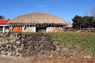 Photo: Would you like to live inside a hut like this?