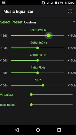 Music Equalizer 1.3.6 screenshots 2